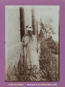 PHOTO-1890-ALGERIE-JEUNE-FEMME-EN-COSTUME-TRADITIONNEL-AFRIQUE-DU-NORD-A200