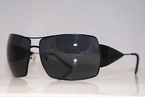Image is loading PRADA-Mens-Unisex-Designer-Sunglasses-Black-Square-SPR- 9b30733ee8ad
