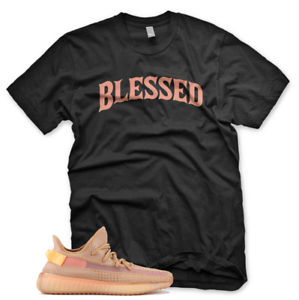 New-BW-BLESSED-T-Shirt-for-Adidas-Yeezy-Boost-350-v2-Clay