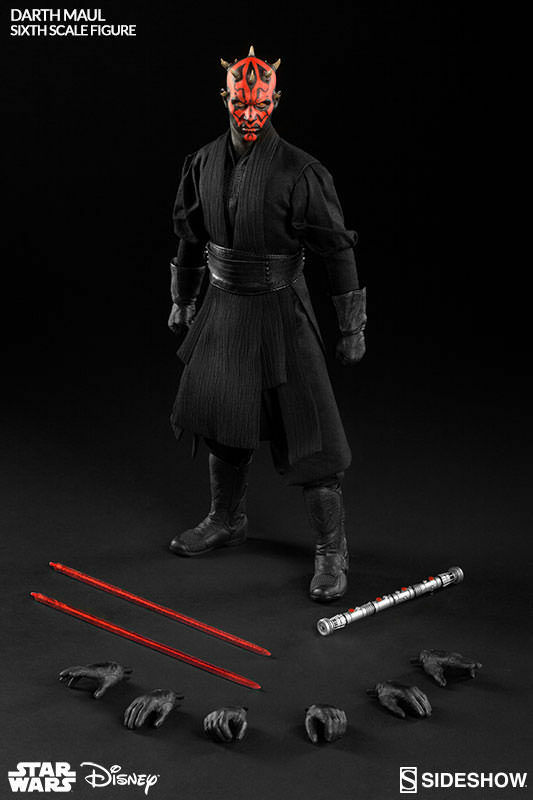 STAR WARS: DARTH MAUL Duell on NABOO 1/6 Action-Figur 12″ SIDESHOW