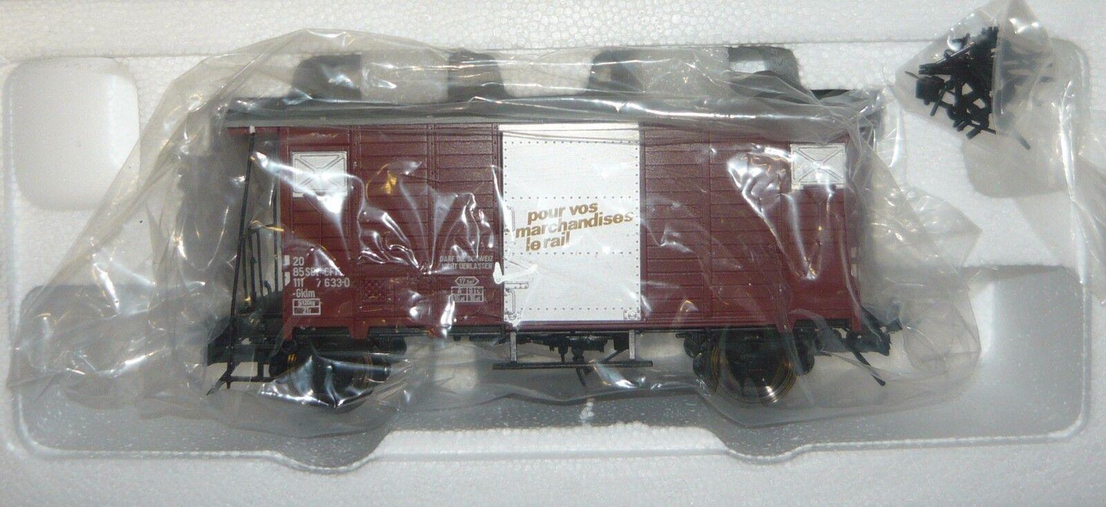 MTH Electric Trains 20-99016-0, con cena de vagones, SBB carril 0, neu&ovp