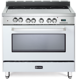 36 Electric Range >> Verona Vefsee365w 36 Electric Range Single Oven Convection True