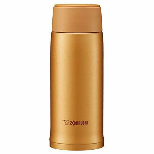Zojirushi SM-NA36-DM Honey Gold 360ml Double-wall Stainless Mug Drink Bottle