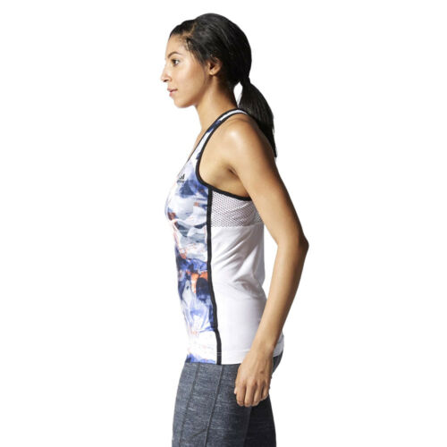Womens Style mangas Fitness Training Running Adidas Top Edge sin Gym Tank F1wxtO