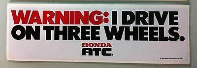 """2x Team ATC Decals Logos Sticker 3/"""" 250R 350X ATV Big Red 200e 200x 250es"""