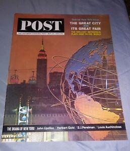 THE-SATURDAY-EVENING-POST-May-23-1964-World-039-s-Fair-John-Updike-Bohemians
