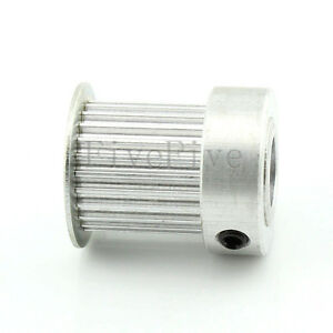 Htd3m 24t 12mm 14mm Bore 21mm Width Stepper Motor Timing