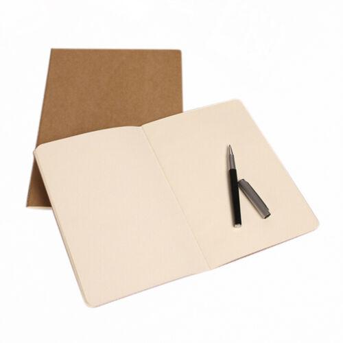Kraft paper notebook blank notepad book vintage journal notebooks  YN
