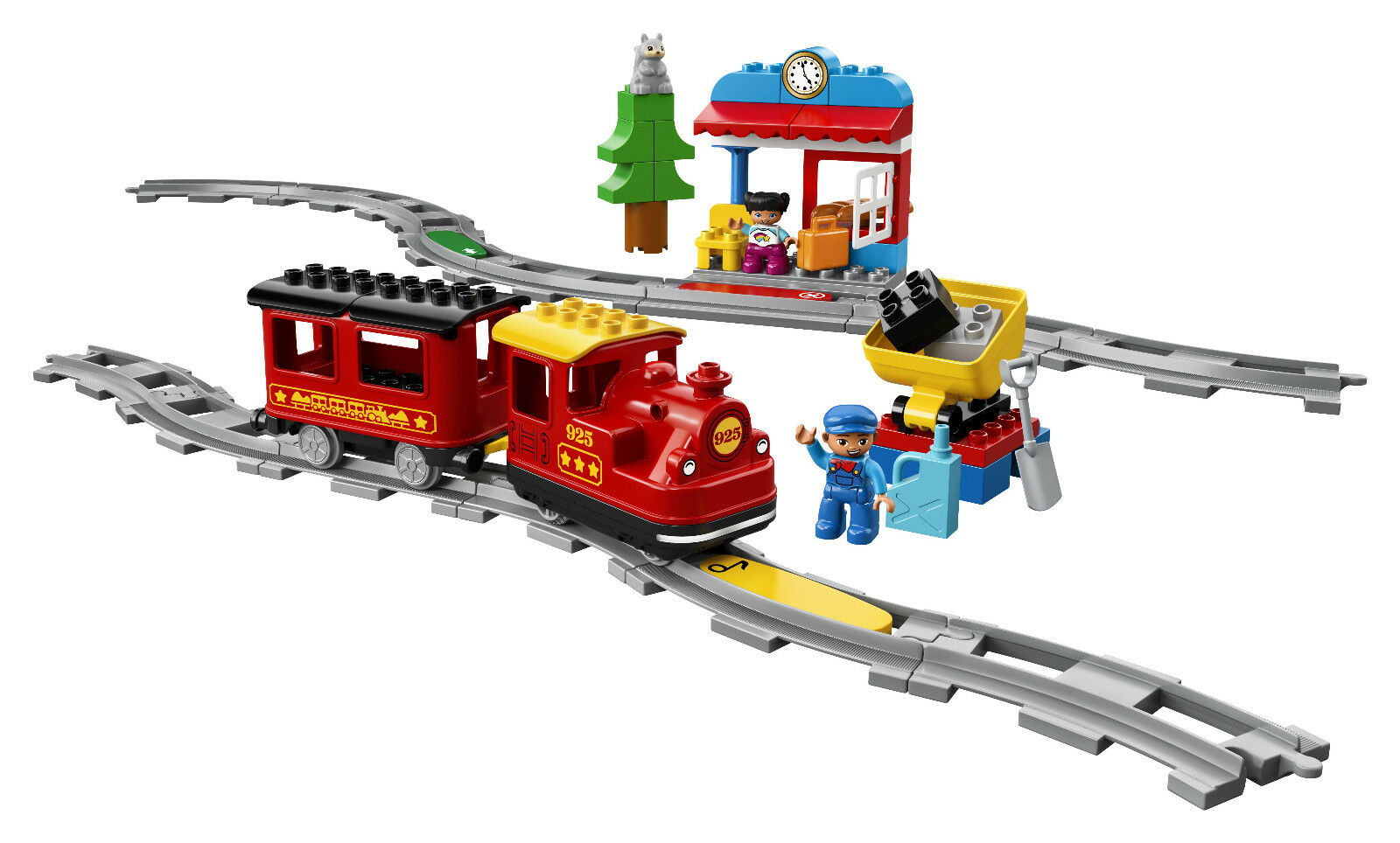 Lego Duplo 10874 - Dampfeisenbahn, Dampfeisenbahn, Dampfeisenbahn, Neuf  Embal. Origine 87f21f
