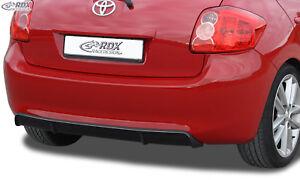 RDX-Heckdiffusor-TOYOTA-Auris-E150-2010-Diffusor-ABS-schwarz-glaenzend-Tuning