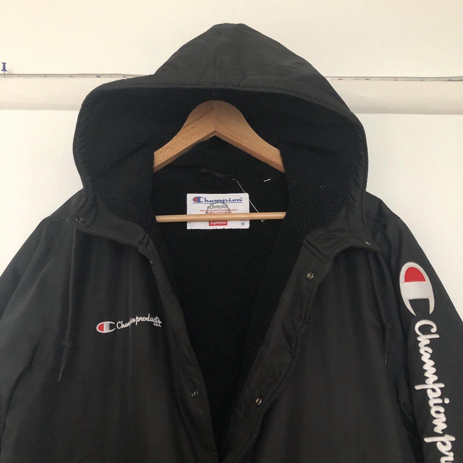 Supreme X Champion Poids lourd doublés en en en polaire imperméable long manteau. taille moyenne. 509b67