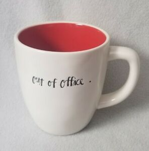 Rae-Dunn-Out-Of-Office-Coffee-Tea-Mug-Artisan-Collection-by-Magenta-Red-Interior