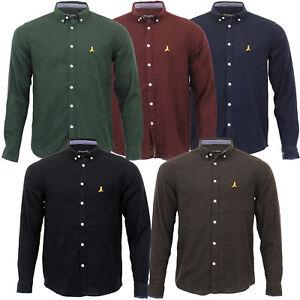 Mens-Brushed-Cotton-Shirt-Brave-Soul-Long-Sleeved-Flannel-HOLMES-Casual-Designer