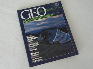 Geo-Spezial-Heft-BADEN-WURTTEMBERG-von-12-1987