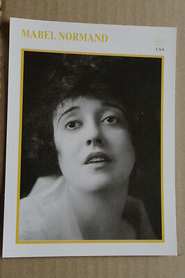 (s22) Starportraitkarte - Mabel Normand