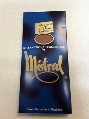 Minstral American tan dance tights size 9-12