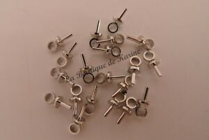 LOT-DE-20-TIGES-A-COLLER-METAL-ARGENTE-7-mm-BELIERES-FIXES-BIJOUX-PERLES
