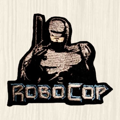 Robocop Patches OCP Corporation Logo Murphy Detroit Police Suit Car Embroidered