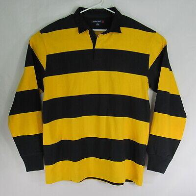 Sport Tek Ls Blue Yellow Rugby Shirt Men Size Xl Xlarge Euc Ebay Nika amashukeli | georgia's best referee 2020 amashukeli acted as side ref tier one teams' match for the first. ebay