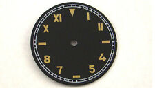 37.5mm Parnis Black dial Fit eta 6497 Sea-gull st36 movement watch P149