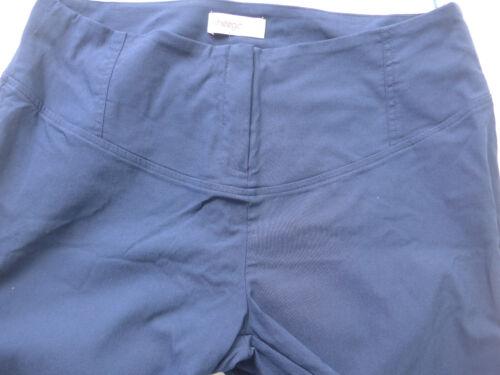 001 Sheego Hose Bengalin Stoffhose Damen Gr 40 bis 52 blau Ton
