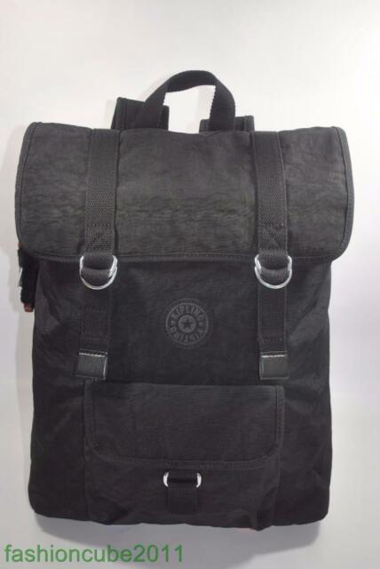 New With Tag Kipling JINAN LARGE BACKPACK WITH LAPTOP PROTECTION - Black d3165e700