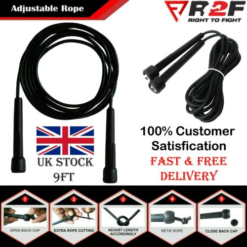 Skipping Fitness Rope Jumping Speed Adult Boxing Exercise Weight Lose Boxing Gym