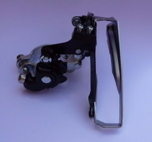 Shimano Tourney FD-TY510 Front Derailleur Gear mech Shifter Triple Duel Pull MTB