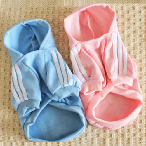 Pet Dog Warm Hoodie Jacket Winter Clothing Puppy Sweater Coat Jumpsuit Apparel *