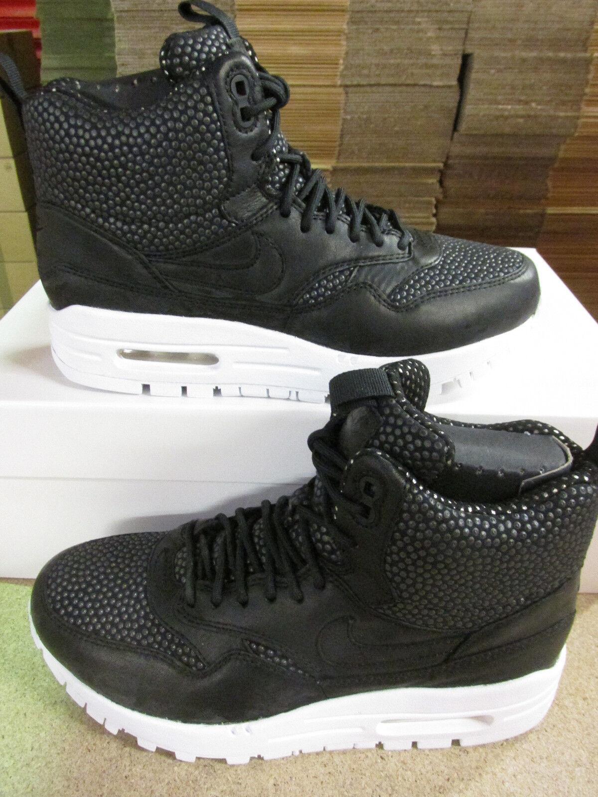 NIKE Da Donna Air Max 1 001 Sneakerboot TECH Sneakers 826601 001 1 Scarpe Da Ginnastica Scarpe 22e55f