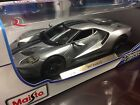 Maisto 1:18 Scale Diecast Model Car - 2017 Ford GT (Silver)