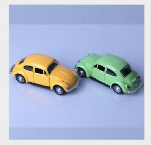 Child-039-s-1-32-beetle-Classic-Alloy-Diecast-Car-Model-Two-doors-can-be-opened