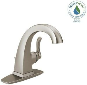 Delta Everly Single-Handle Bathroom Faucet 1-3-Hole 4\
