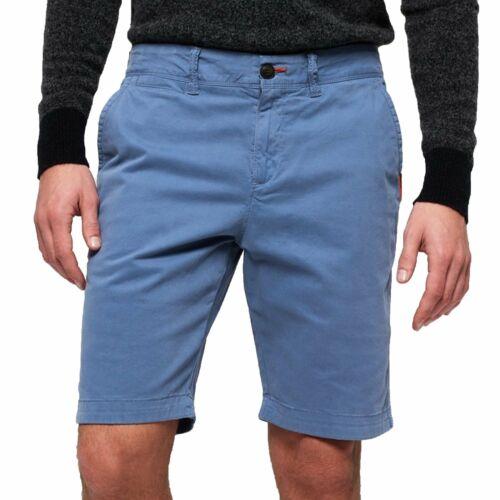 Superdry International Chino Shorts Neptune Blue AKY