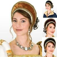 Tudor, French Hood, Renaissance Costume Suitable for Re-enactment Stage or LARP