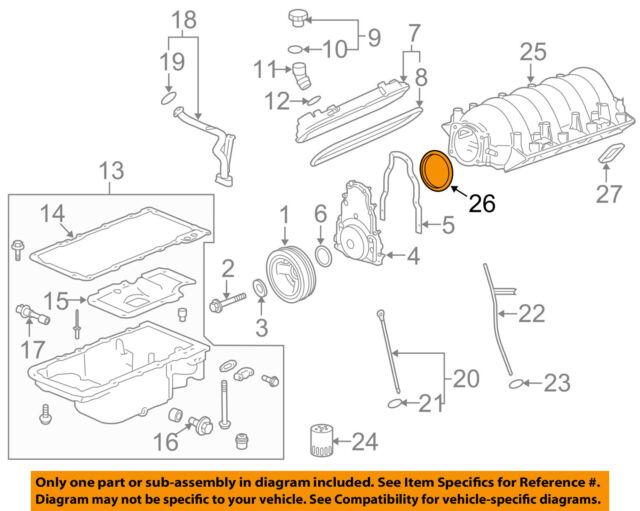 GM OEM Throttle Body-Gasket 12576549