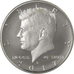 2015 S Silver Proof Kennedy Half Dollar Choice Uncirculated US Mint