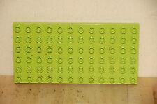 Lego Duplo 6x12 Stud Baseplate Lime Green