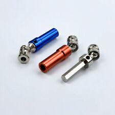 2x 1//10 Scale Black Metal Adjustable CVD Drive Shaft 114-150mm for HSP 94180 RC
