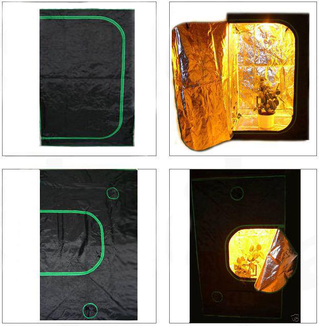 Greenbud Mylar XL Growschrank,growbox, ,120x120x200,ohne giftige Weichmacher