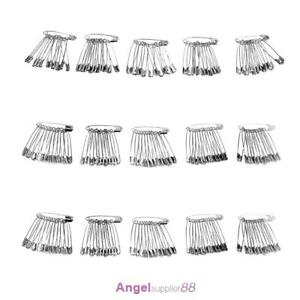 60pcs-Silver-Tone-Metal-Stainless-Steel-Brooch-Badge-Jewelry-Safety-Pins