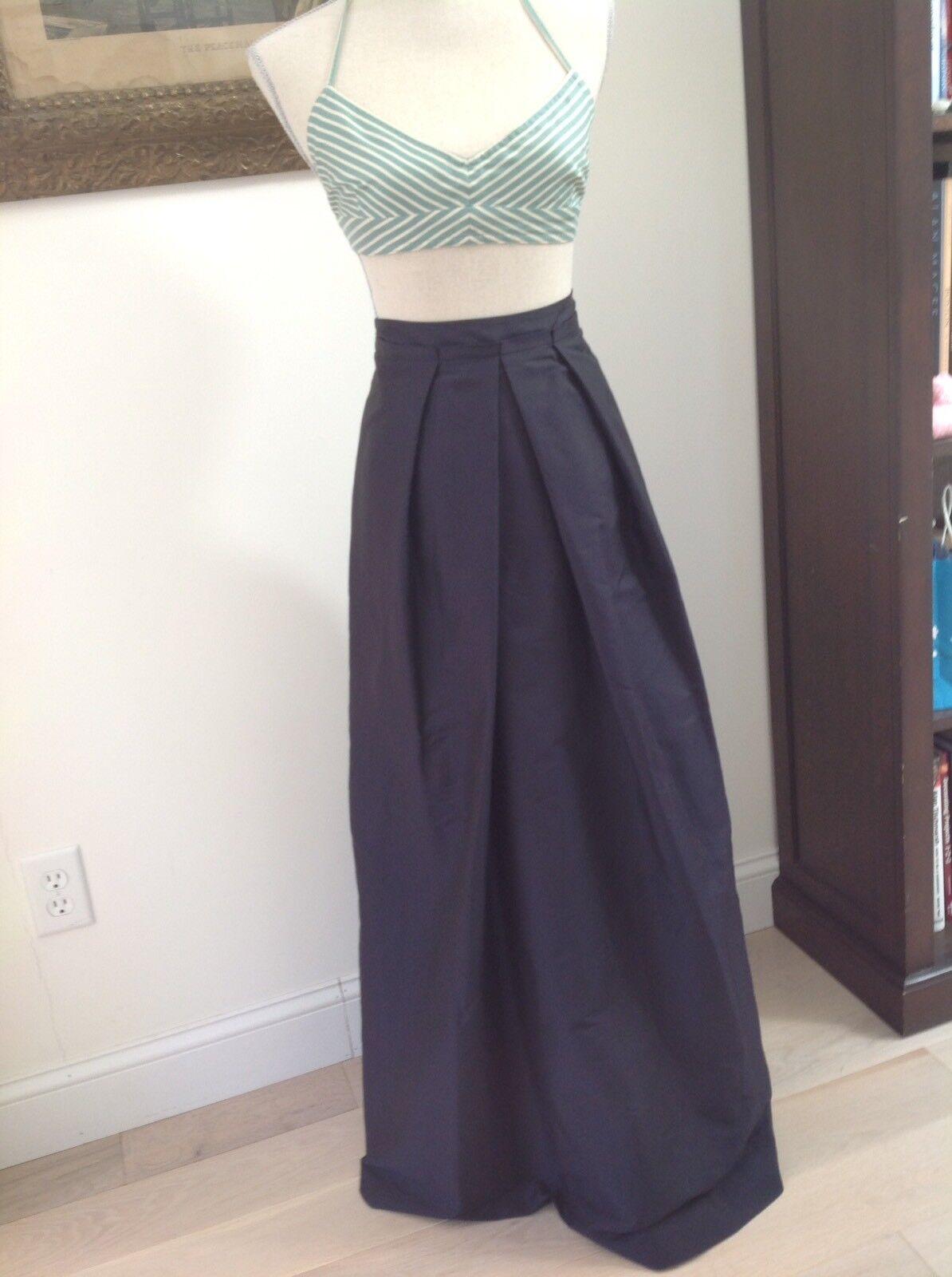 Jones New New New York Evening Formal Full Length Skirt Midnight bluee Weddings f05b21