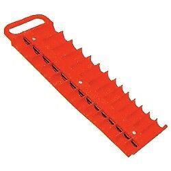 LISLE Large Magnetic 3//8�� Socket Tray Red 40200