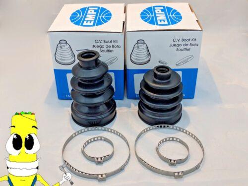 EMPI REAR Inner /& Outer CV Axle Boot Kit for Yamaha Kodiak 400 2005 2006 w// 4x4
