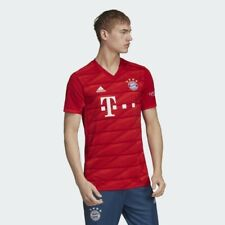 adidas Mens Bayern Munich Club Team 2020 Home Stadium Jersey Red ...