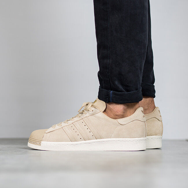 SCARPE UOMO SNEAKERS ADIDAS ORIGINALS SUPERSTAR 80S [BB2227]