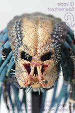 1:6 scale HOT TOYS MMS233 PREDATOR 2 Elder Predator HEAD SCULPT