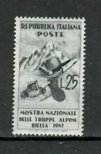 S21596) Italy 1952 MNH New Alpine 1v