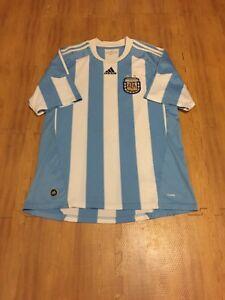 d0cc8c837 Argentina National Soccer Team FIFA Adult Large Blue Adidas Futbol ...