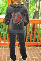 South Carolina Gamecocks Rhinestone Bling Velour Sweat Suit S M L Xl Xxl